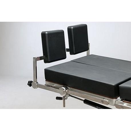 Supports de pieds ajustables pour table d'opération