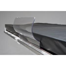 Gouttière de Quenu Reison en polycarbonate transparent