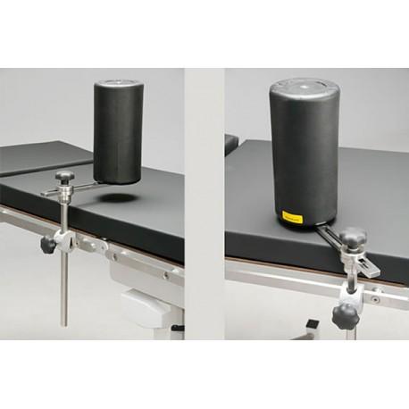 Rouleau vertical pour appui latéral de table d'opération
