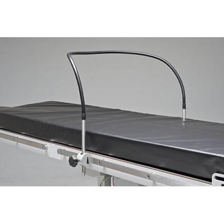 Arceau d'anesthésie flexible pour table d'opération