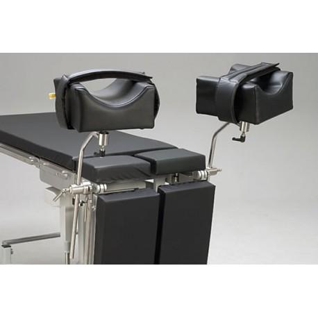 Portes jambes Goepel XL pour table d'opération - La paire