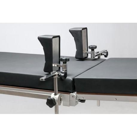 Appuis épaules Reison 10-350 pour table d'opération, la paire