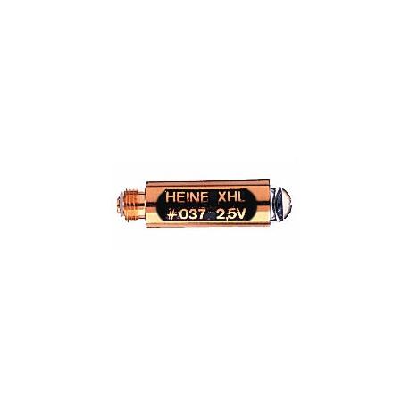 Ampoule XHL 037 2,5 v pour otoscope Heine Mini 2000FO
