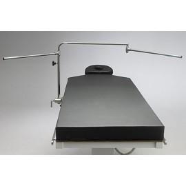 Bras d'extension pour cadre d'anesthésie de table d'opération