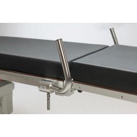 Barres de poussée pour table d'opération, la paire