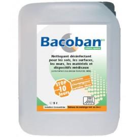 Détergent désinfectant solution concentrée BACOBAN surface haute et DM