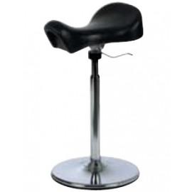 Tabouret selle ergonomique non oscillant sur socle Réf 605000