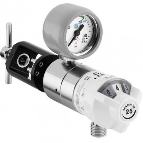 Détendeur Débitmètre Oxygène REGSON TM2 à étrier pour petite bouteille