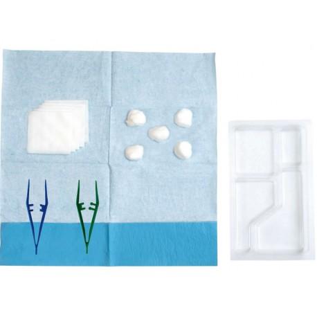 Set de pansement à usage unique PRECISIO 2, le carton de 48 sets de soin steriles