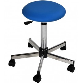 Tabouret medical VOG 1142/5 sur roulettes