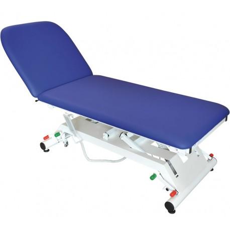 Divan d'examen électrique Vog Médical VIMEU avec roulettes escamotables