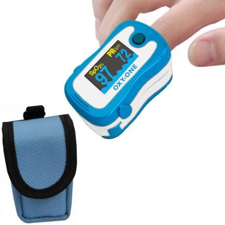 L'oxymetre de pouls OXY ONE est fourni avec une sacoche de transport