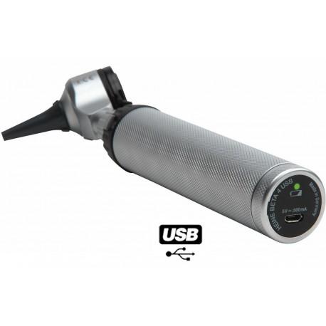 B-143.28.387 : Beta 400 LED F.O avec poignée rechargeable BETA 4 USB