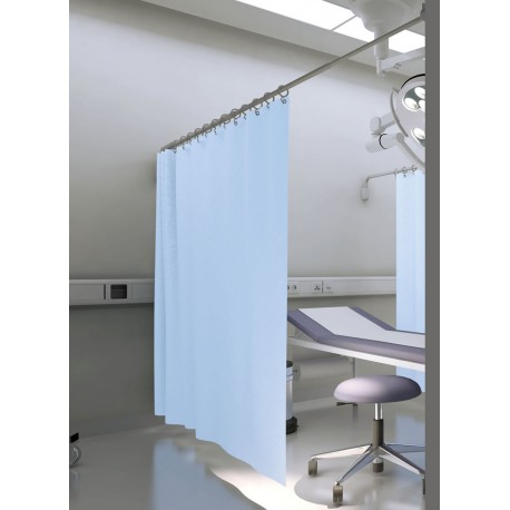 Paravent telescopique medical fixation entre 2 murs