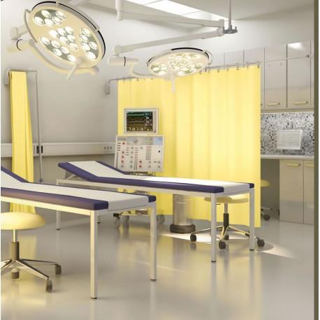 paravent téléscopique médical grande longueur 300 cm pose entre 2 murs imerative