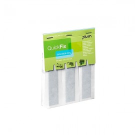 Recharge de 30 pansements détectables QUICK FIX DETECTABLE ESCULAPE