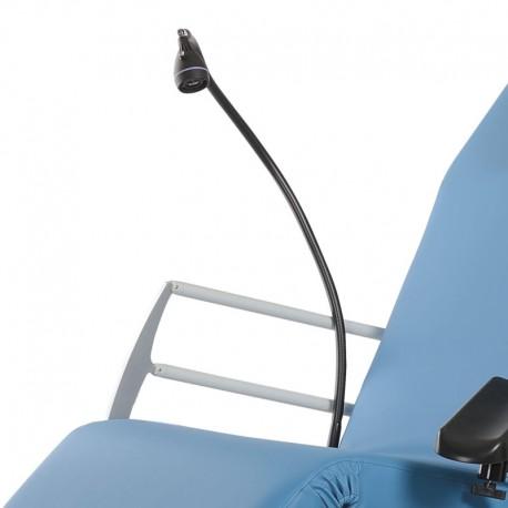 Lampe de lecture à LED pour fauteuil chirurgie ambulatoire Carina MULTI K V2