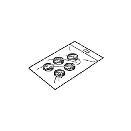 Filtres à air pour nébuliseur Omron C-28, C-29 et C-900 Pro - Le sachet de 5