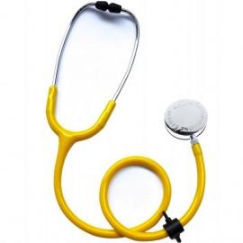 Stethoscope decontaminable Laubry Clinic avec obturateur d'embouts auriculaires