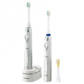 2 Brosses à dents électriques Panasonic Sonodent EW1031 Pack Famille