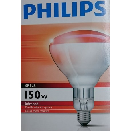 Ampoule infrarouge 150W Philips BR125