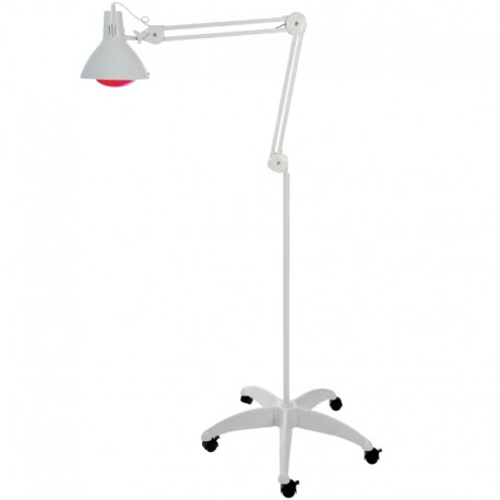 Lampe A Infrarouge Chauffante 250w Sur Pied Roulant