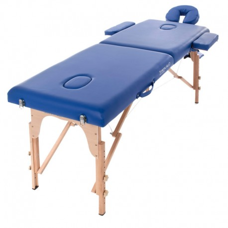 Table de massage Holtex pliable LOMBOK 2, coloris bleu
