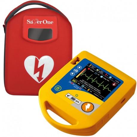 Défibrillateur semi-automatique SAVER ONE D avec écran LCD