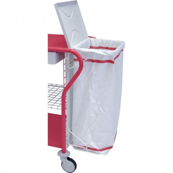 support pour sac linge pour chariot de change et de toilette. Black Bedroom Furniture Sets. Home Design Ideas