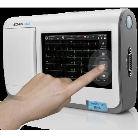 Électrocardiographe EDAN SE 301 écran tactile
