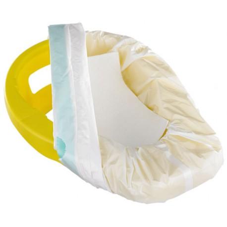 Support bassin de lit + enveloppe hygiénique jetable