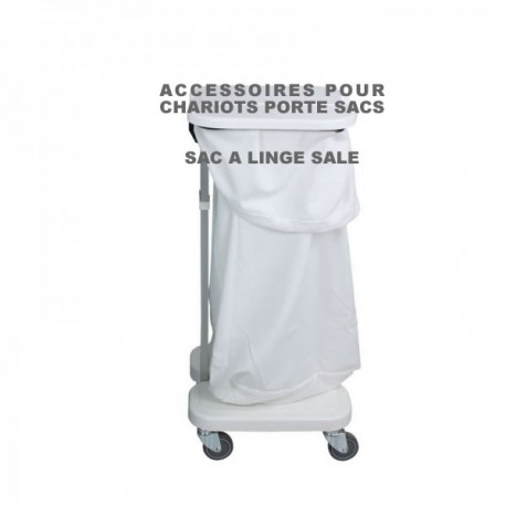 sac linge sale pour chariot porte sac. Black Bedroom Furniture Sets. Home Design Ideas