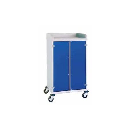 chariot de distribution du linge en milieu hospitalier. Black Bedroom Furniture Sets. Home Design Ideas