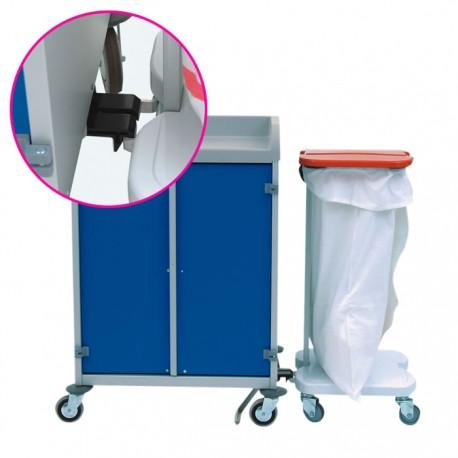 Système d'accroche pour porte-sac à 1 sac