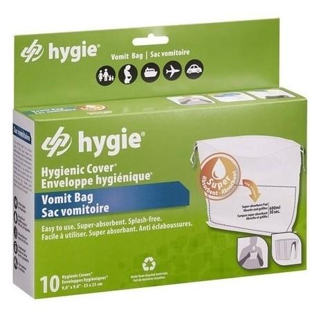 Sac vomitoire HYGIE conditionnés par 10
