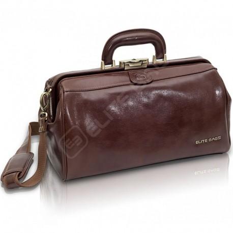 Mallette médicale cuir ELITE BAGS CLASSY'S : devant