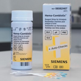 Bandelettes réactives Siemens Hema Combistix