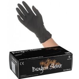 Gants latex noir jetables