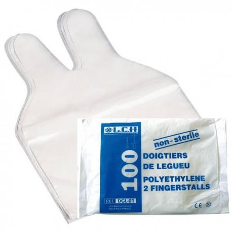 Doigtier type LEGUEU 2 doigts non stériles