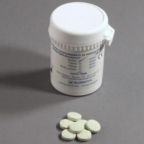 Bicarbonate soins de bouche comprimés effervescents Bicarômes