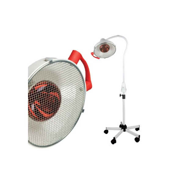 Lampe infrarouge kin 250w pied roulant - Lampe infrarouge cuisine ...