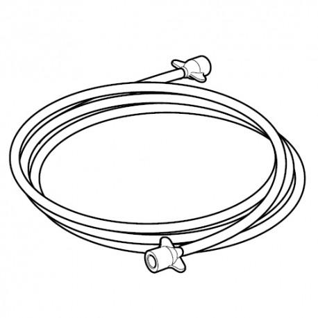 Tube à air Omron pour compresseurs nébuliseurs Omron NE-C801, NE-C801KD, C28, C29 Pro, C30 et C28P