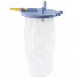 Poche de recueil jetable FLOVAC pour aspiration médicale