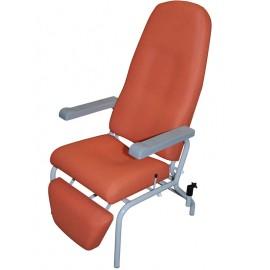 inclinaison semi horizontale du fauteuil médical de repos