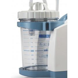 Bocal Polycarbonate autoclavable pour aspirateur de mucosité CA-MI
