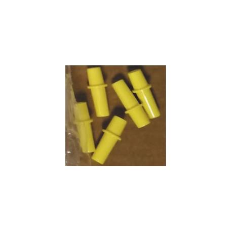 Connecteur mâle jaune Flovac- Les 5