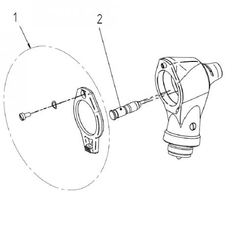 Loupe de rechange pour otoscope HEINE mini 3000