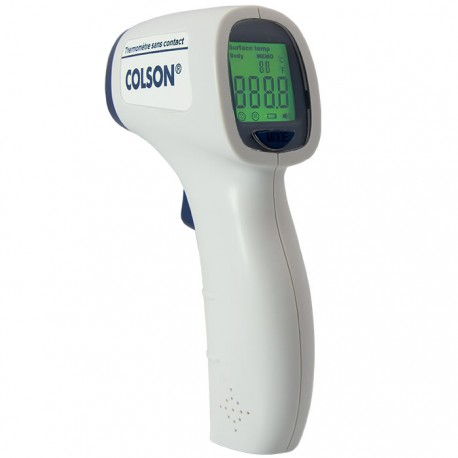 Thermomètre COLSON Flash Temp Easy Scan infrarouge sans contact