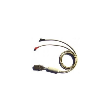 Câble ECG 2 sorties pour défibrillateur SAVER ONE