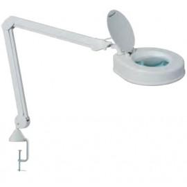 Lampe loupe 5 Dioptries etau pour table